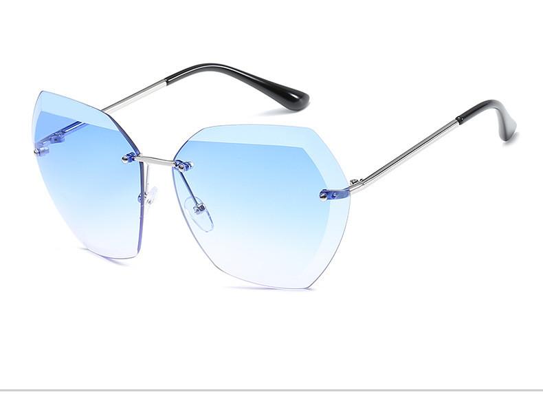 HTB1xi3cftzJ8KJjSspkq6zF7VXaL - Luxury Vintage Rimless Sunglasses Women Brand Designer Oversized Retro Female Sunglass Sun Glasses For Women Lady Sunglass 2018
