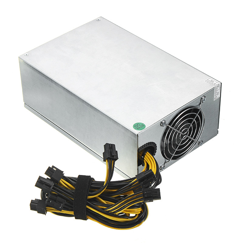 6pin*10 1600W ATX Power Supply For ETH S7 S9 for L3 + High Quality ...
