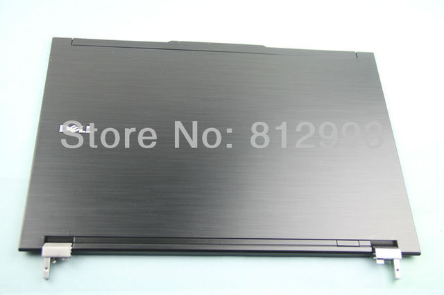 Laptop LCD Rear Back Cover  Lid for Dell Latitude E4300 with Hinges kit and Antenna cable P/N: RDKW2