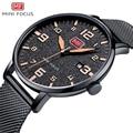 MINIFOCUS мужские часы Топ люксовый бренд спортивные часы мужские кварцевые наручные часы Мужские часы MF0158G.05