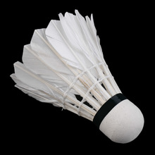 3pcs Training White duck feathers Badminton Shuttlecocks Birdies Ball Game Sport Entertainment Product Badminton Balls with Can