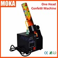 60W Mini one head confetti machine Cannon stage wedding blaster machine dmx512 control for Concert Theater DJ Stage effects