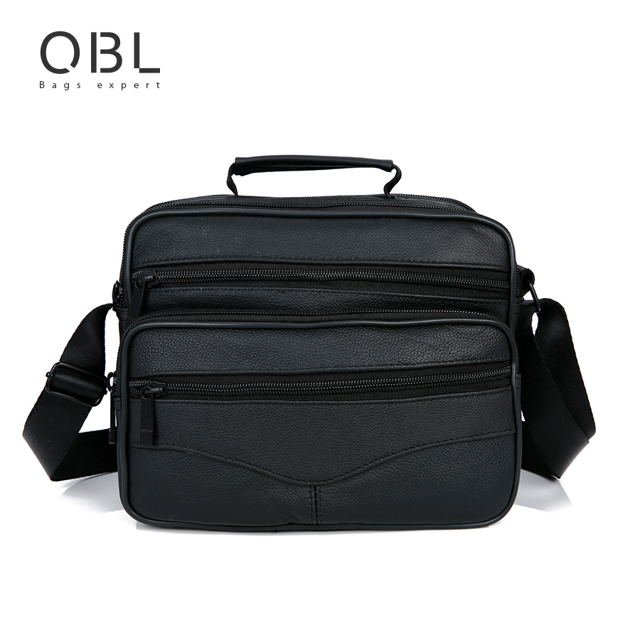 Genuine Leather Messenger Bags Men Casual Business Crossbody Shoulder Bag Man Handbags Black Sacoche Homme Bolsa Masculina MBA12 genuine leather men bag fashion messenger bags shoulder business men s briefcase casual crossbody handbags man waist bag li 1423