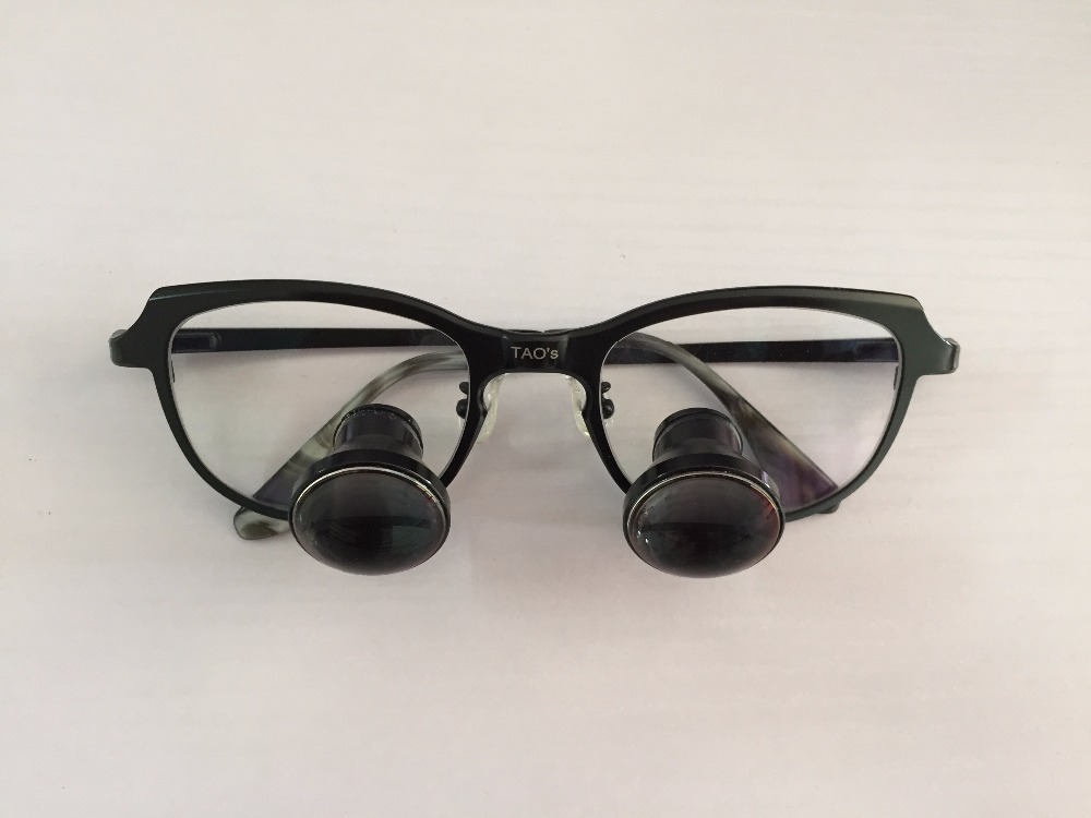 b1a0e00f60da TAO S TTL magnifying online shopping 3.0X TTL custome made dental loupes  through the lens surgical lens-in Magnifiers from Tools on Aliexpress.com