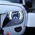 Wrangler Faros de 7 Pulgadas Ronda LED Kit de Conversión de Faros Asamblea Luz DLR Para JK TJ FJ Hummer Camiones Motocicleta Faro