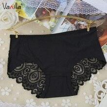Vanilla font b Women s b font Sexy Lace Silk Panties Seamless Panty Briefs font b