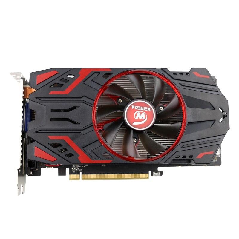 Carte vidéo Veineda 100% Original GPU GTX750 1 GB GDDR5 carte graphique Instantkill GTX650Ti, HD6850, R7 350 pour les jeux nVIDIA Geforce - 2