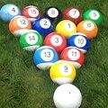 16 Pçs/lote Bilhar Piscina Snooker Futebol Nova Fusão Chuta a Bola De Futebol Jogo Mix Footpool Adultos Crianças Festa Fun Brinquedos Ao Ar Livre