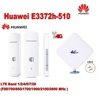 (+4g antenna )huawei E3372h 510 usb modem
