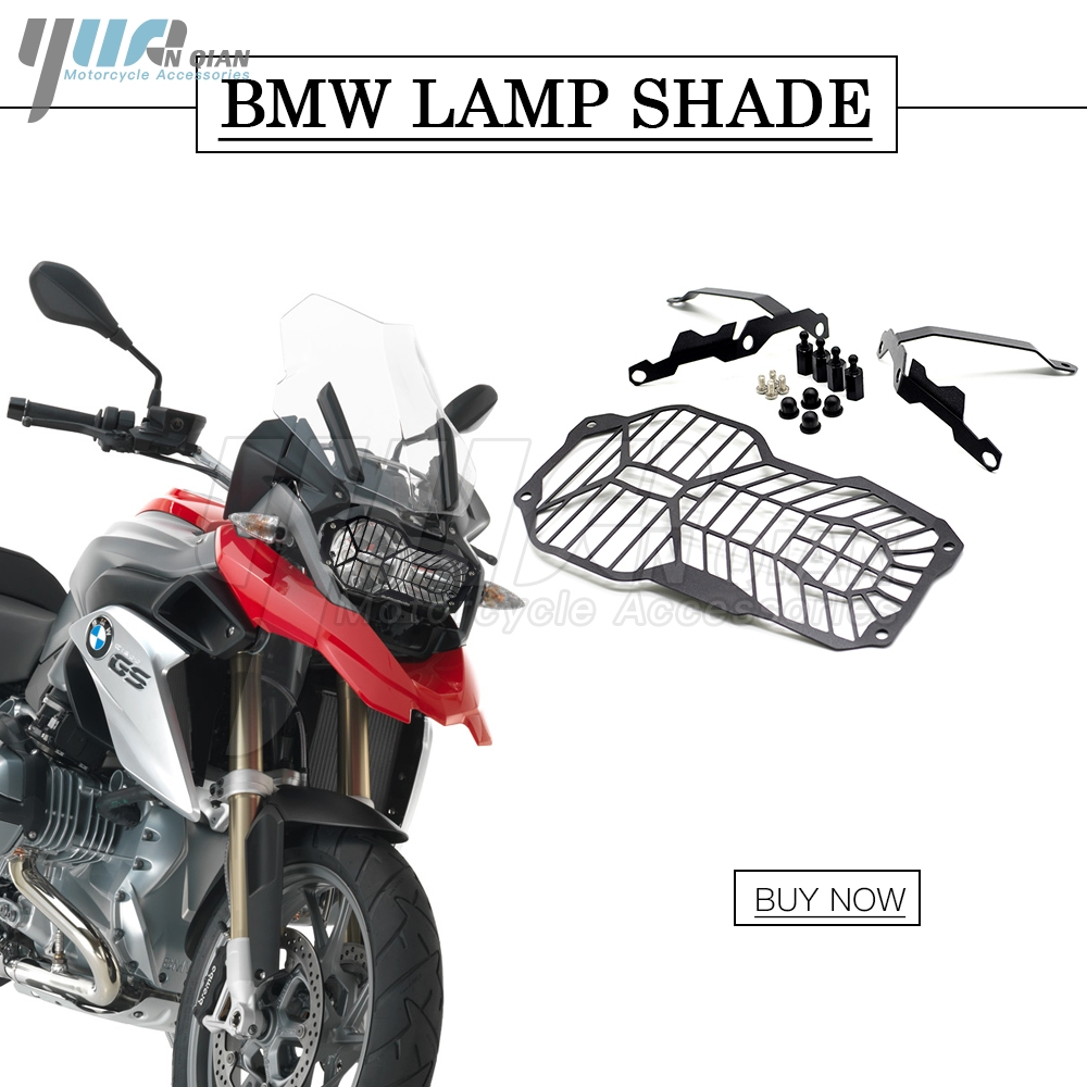 R120GS Motorcycle Headlight Grill Guard Cover Protector For BMW R 1200 GS R1200GS ADV Adventure R1200 R 1200 GS 2013-2016 2017 motorcycle radiator grill grille guard screen cover protector tank water black for bmw f800r 2009 2010 2011 2012 2013 2014