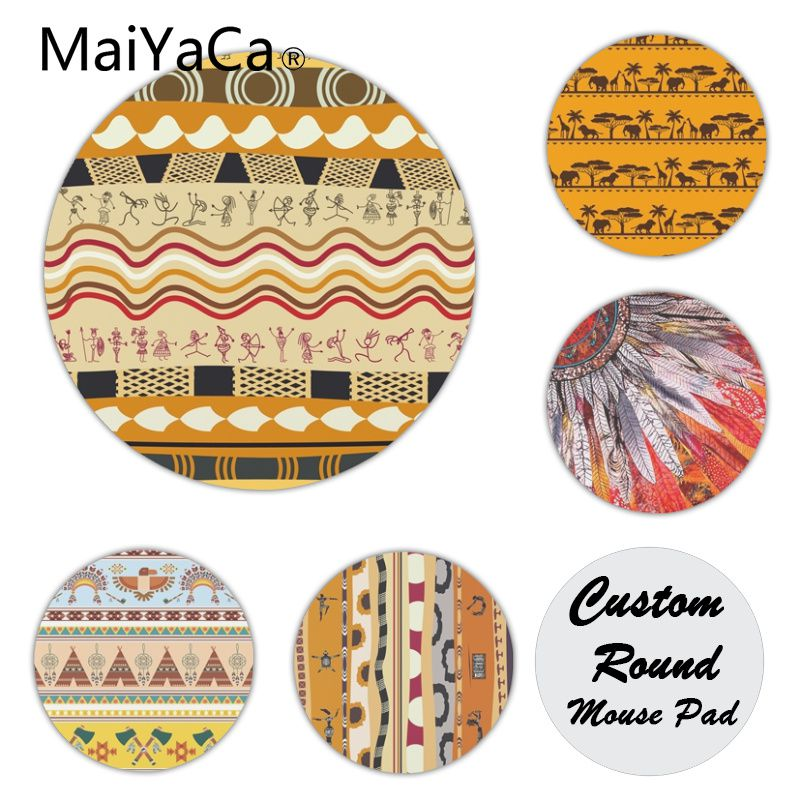 MaiYaCa Cool New Africa Icons Tribe Silicone Pad to Mouse Game Customized MousePads Computer Laptop Anime Mouse Mat