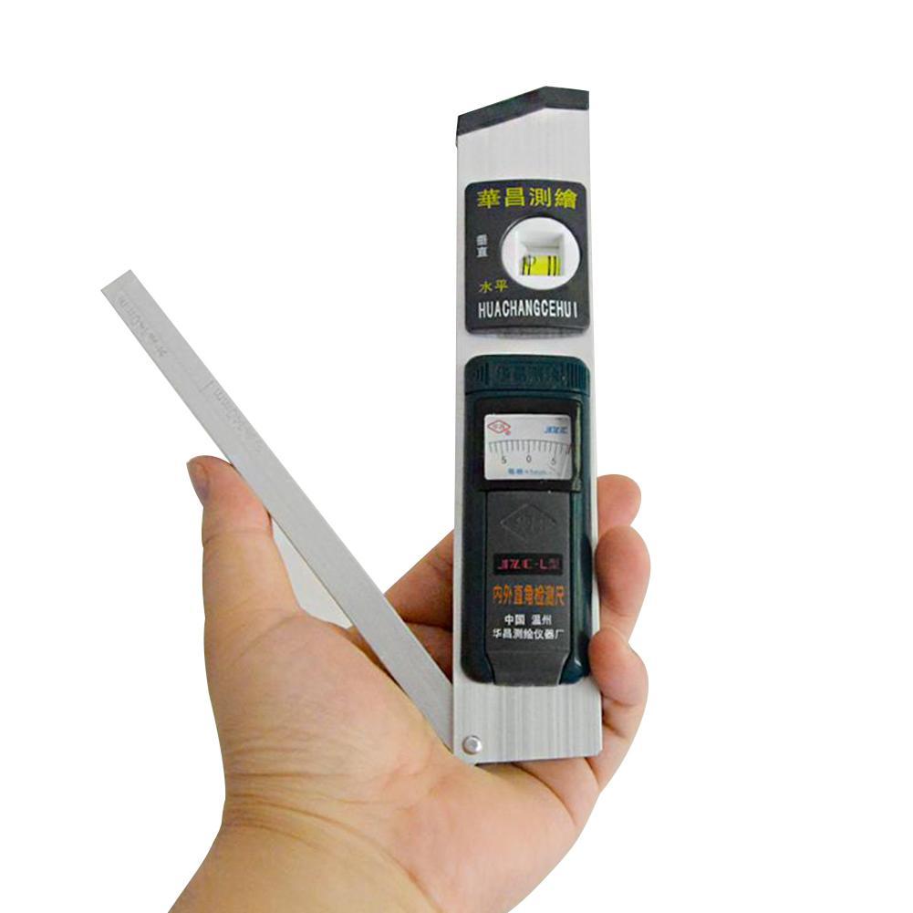 Digital Angle Finder Gauge 0-230Degree Protractor Ruler Miltre Angle Finder With Magnetic Base Backlight