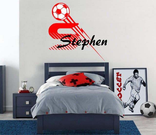 Tiener Slaapkamer Kleuren.Nieuwe Aankomst Sport Voetbal Stickers Voor Sport Tiener Slaapkamer