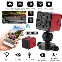 цены HOT Quelima SQ13 Mini HD 1080P Car DVR WiFi Loop-cycle Recording Night Vision Camera