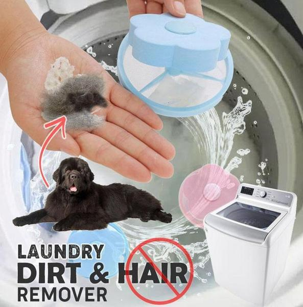 Washer Filter Bag Mesh Filtering Hair Removal Floating Pet Fur Lint Hair Catcher Hair Catcher Remover Laundry Cleaning Mesh Bag