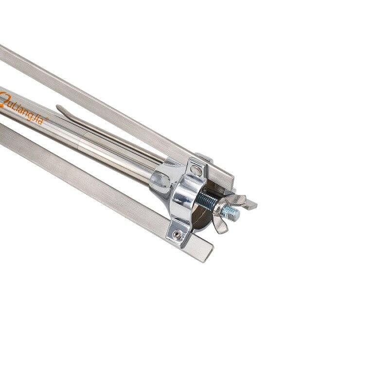 1 pièces tir à l'arc arc classique support traditionnel 3 jambes support en acier inoxydable arc Stand accessoires tir Sports de plein air - 6
