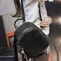 Shoulder bag new college wind schoolbag pu leather simple leisure travel small backpack Korean wave