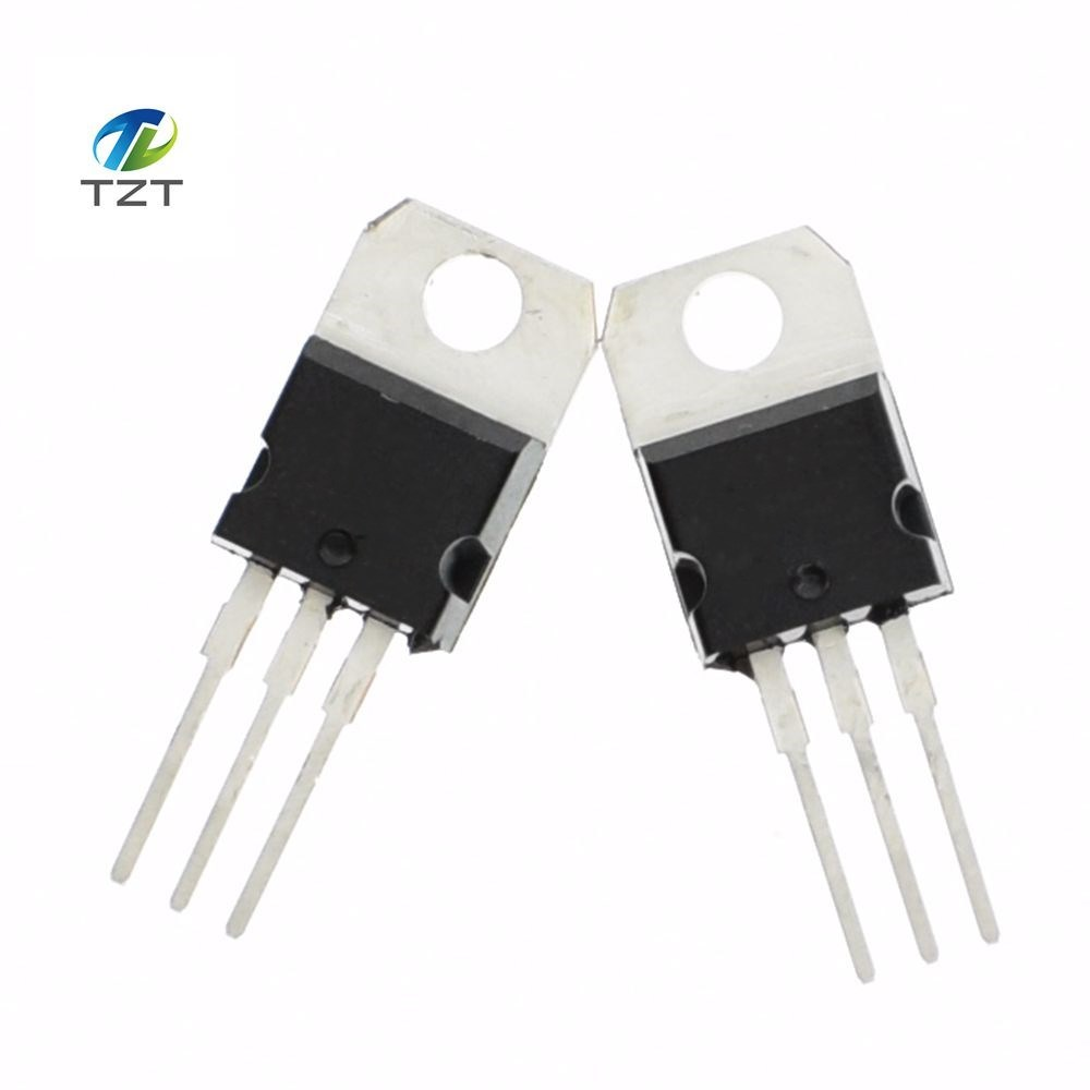 Hot Sale 10pcs Lm317 Lm317t Voltage Regulator 12v To 37v 15a Variable With Electronic Circuit Schematic 220