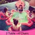Adult water toys Inflatable floating bed floating water park Swimming props Mahjong table playing game shipping by DHL FEDX