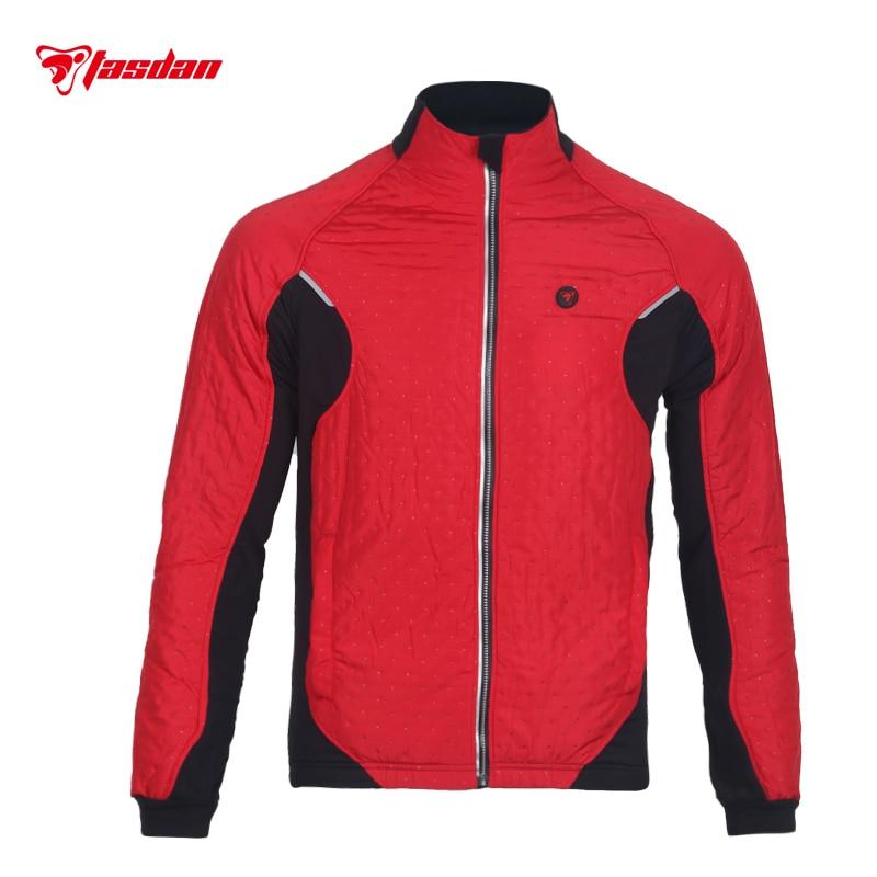 Tasdan vêtements de cyclisme vêtements de cyclisme hommes cyclisme veste thermique veste extérieure trois couches tissu course veste vêtements de plein air - 5