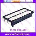 Бесплатная доставка Высокое качество воздушный фильтр салонный фильтр 17220-RKG-A00 17220RKGA00