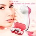 Портативный Розовый TS Положительная Обратная Мыть Инструмент Четыре В Одном Уход За Кожей Инструмент Электрические Очищает Поры верхнего качества