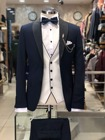 Navy Blue 3 Pieces M...