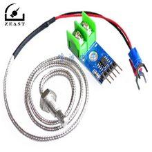 New MAX6675 K-type Thermocouple Temperature Sensor -200~1300C Range SPI Module 4Pins Wire 5V DC For Arduino