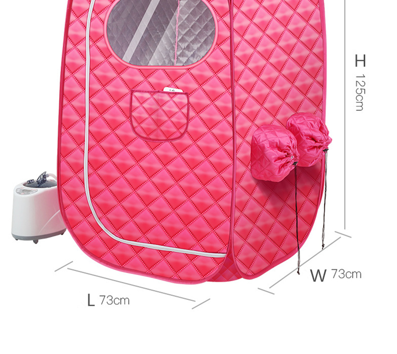 Portable Steam Sauna Bath for Health and Beauty Spa at Home  Lose Weight Detox Therapy Steam Fold Sauna Cabin 19