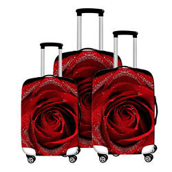 Красочные толстый чемодан чехол Защитный Чемодан чехол для багажник случае применяются к 18-28 дюймов мешка для сбора пыли Туристические