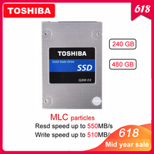 "Original TOSHIBA 240GB Internal solid state drive Q200 EX 480GB MLC Hard Drive Disk 2.5"" SATA 3 SSD  High Speed Cache for Laptop"
