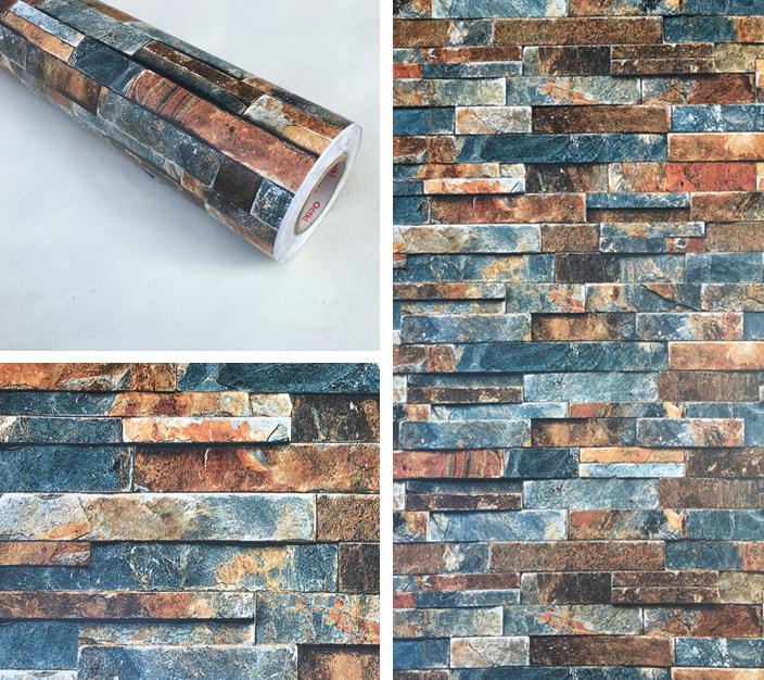 3D Brick Wall Self adhesive Wall Paper Peel Sticker PVC Stone  Decor Waterproof3D Brick Wall Self adhesive Wall Paper Peel Sticker PVC Stone  Decor Waterproof