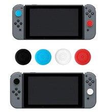 4 UNIDS Gel de Silicona Grip Thumb Stick Caps Gamepad Joystick Analógico Para Nintend NS Interruptor Controlador de Alegría Con Joystick