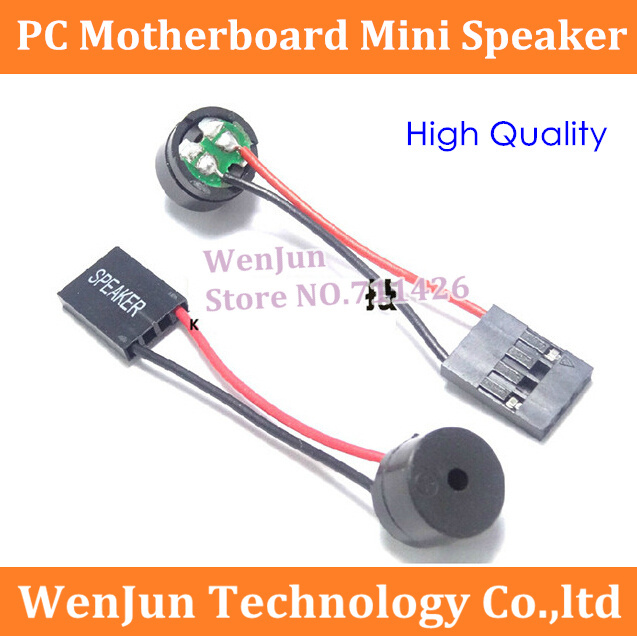 200PCS LOT Free Shipping PC Motherboard mini speaker buzzer speaker alarm chassis speaker