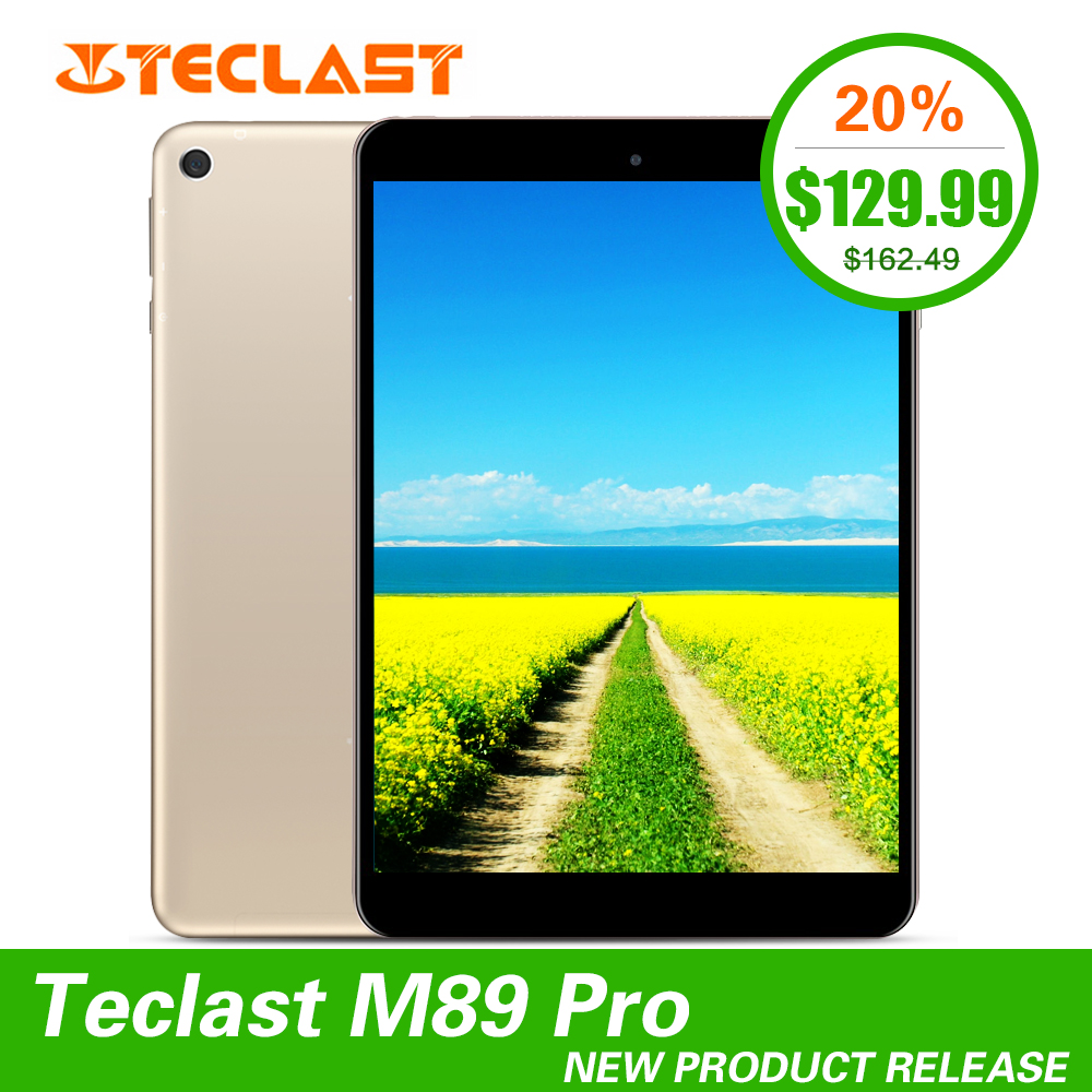 Newest Teclast M89 Pro 7.9 inch 3GB RAM 32GB ROM IPS X27 Deca Core 2048×1536 Type-C 2.4G+5G Dual-band WiFi Metal Thin Tablet PC