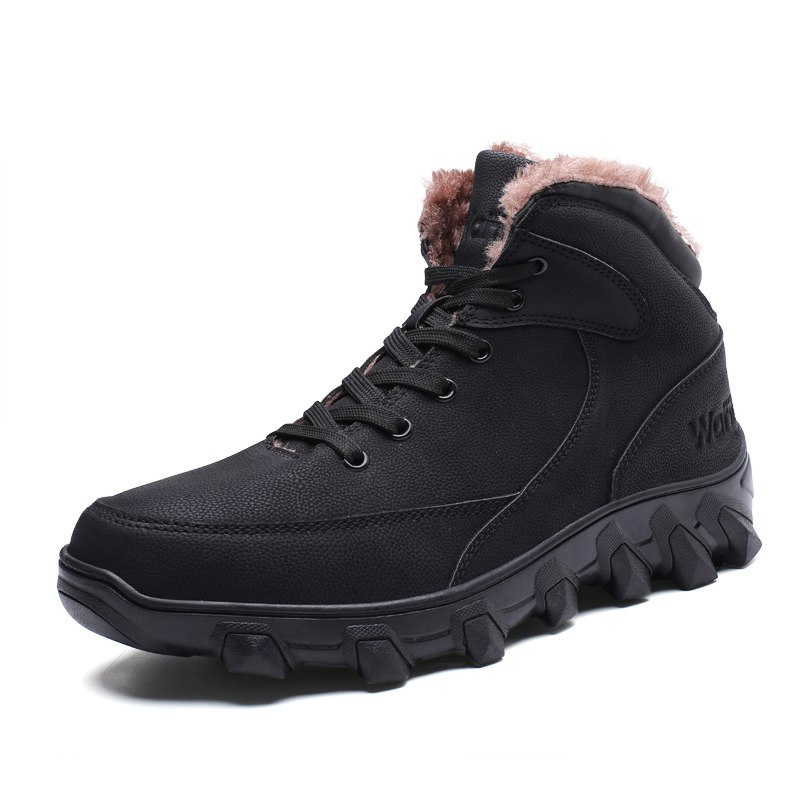 Christmas Winter Men Shoes Warm Military Boots Men Safety Shoes Waterproof Snow Boots Antiskid Ankle Botas Zapatos De Hombre girl shoes in sri lanka