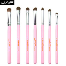 JAF Brand Makeup Brush 7PCS Animal Hair Brush Set Soft Pony Eye Shadow Brush Makeup Set Brush