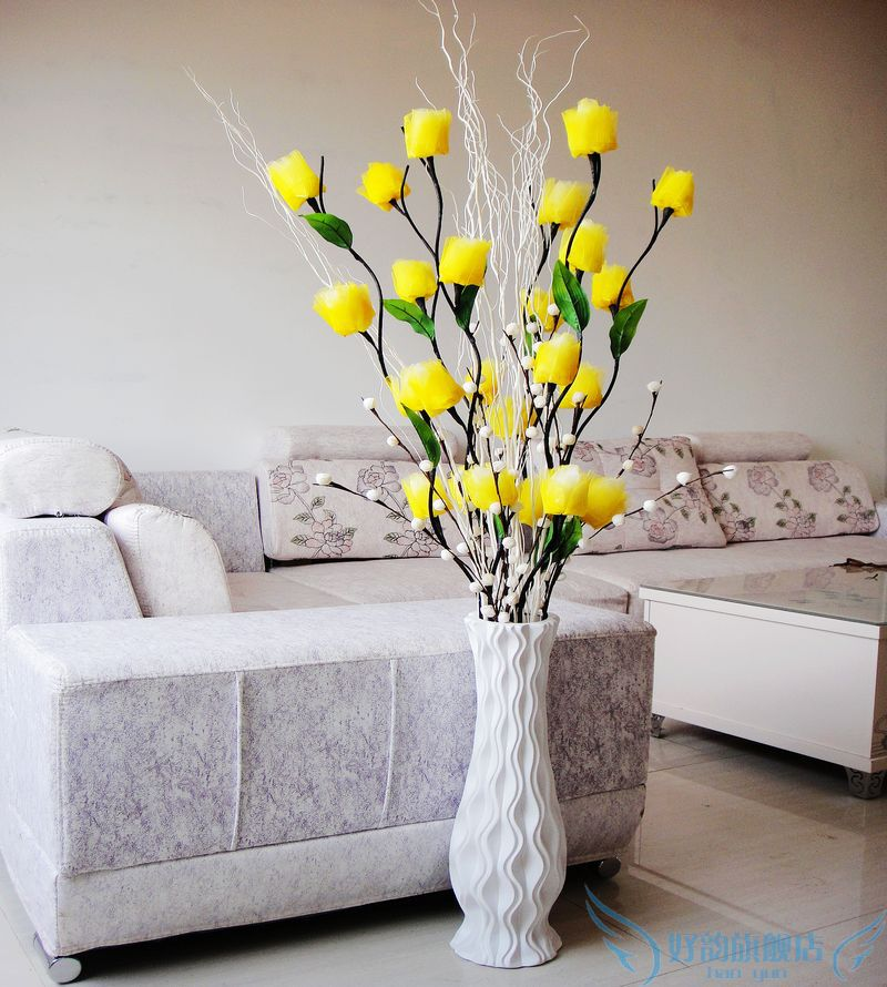 Artificial Flower Arrangements For Living Room Living Room