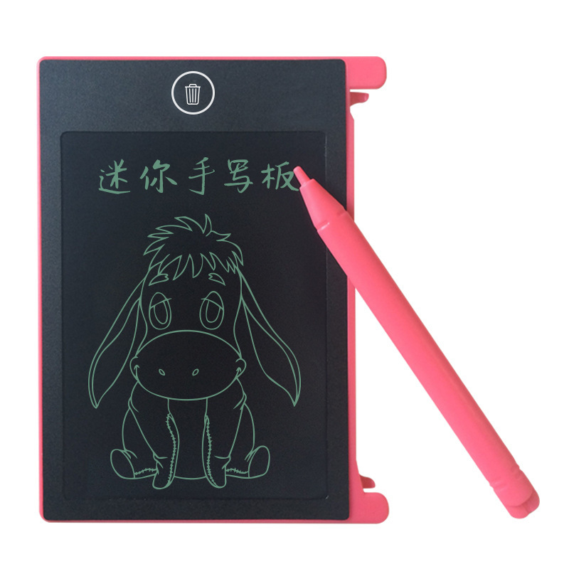 4.4 Inch LCD Magnetic Drawing Board Toy Digital Drawing Tablet Handwriting Electronic Board Toys for Children Educational Toys proyektor drawing