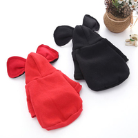 Small Dog Clothes Chihuahua Winter Ears For French Bulldogs Schnauzer Teddy Bear Costumes Vetement Chien Pet Sweatshirt 50WY027