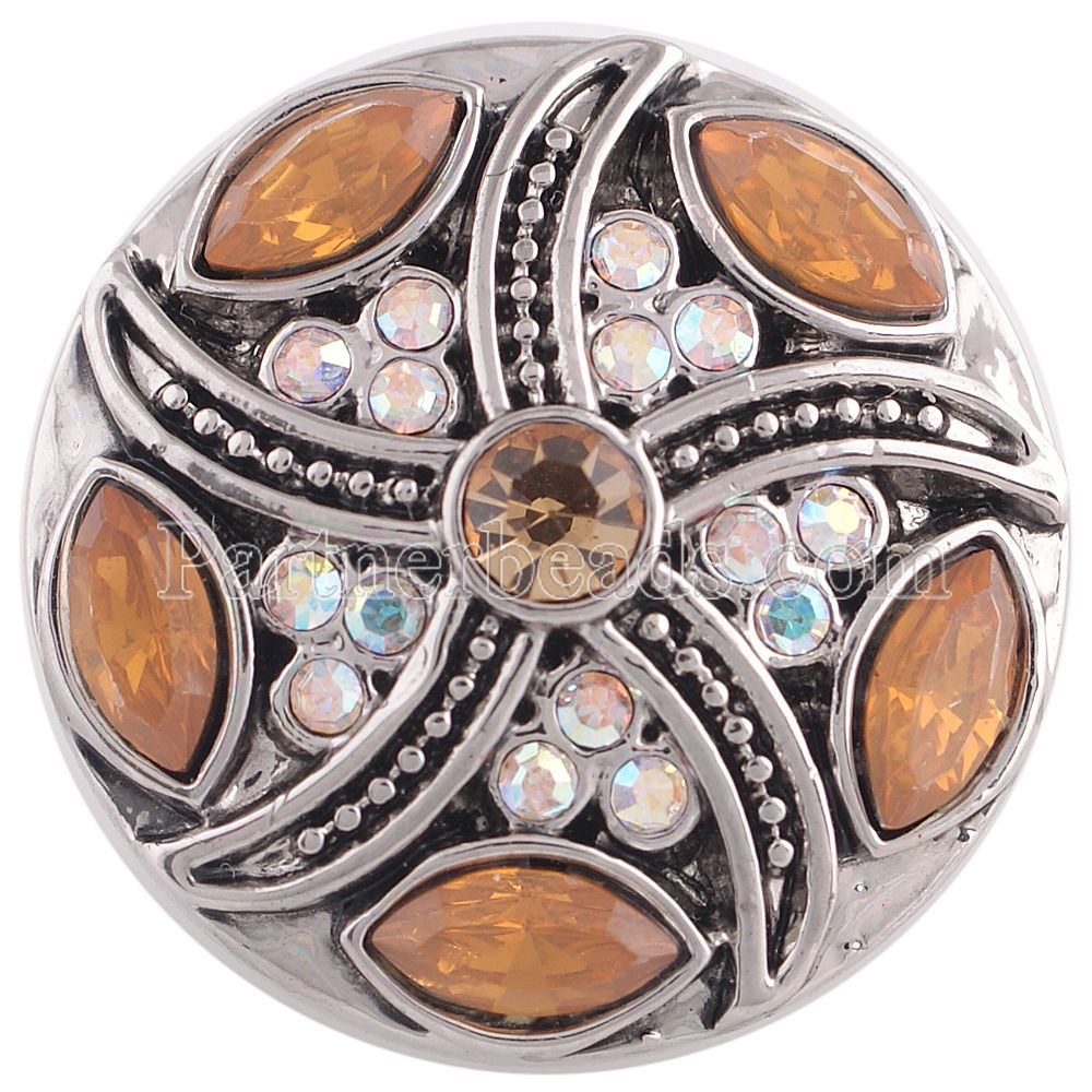 High quality crystal snaps button jewelry 18mm Snap Button charms jewelry fit bracelet bangles snap jewelry KC5351
