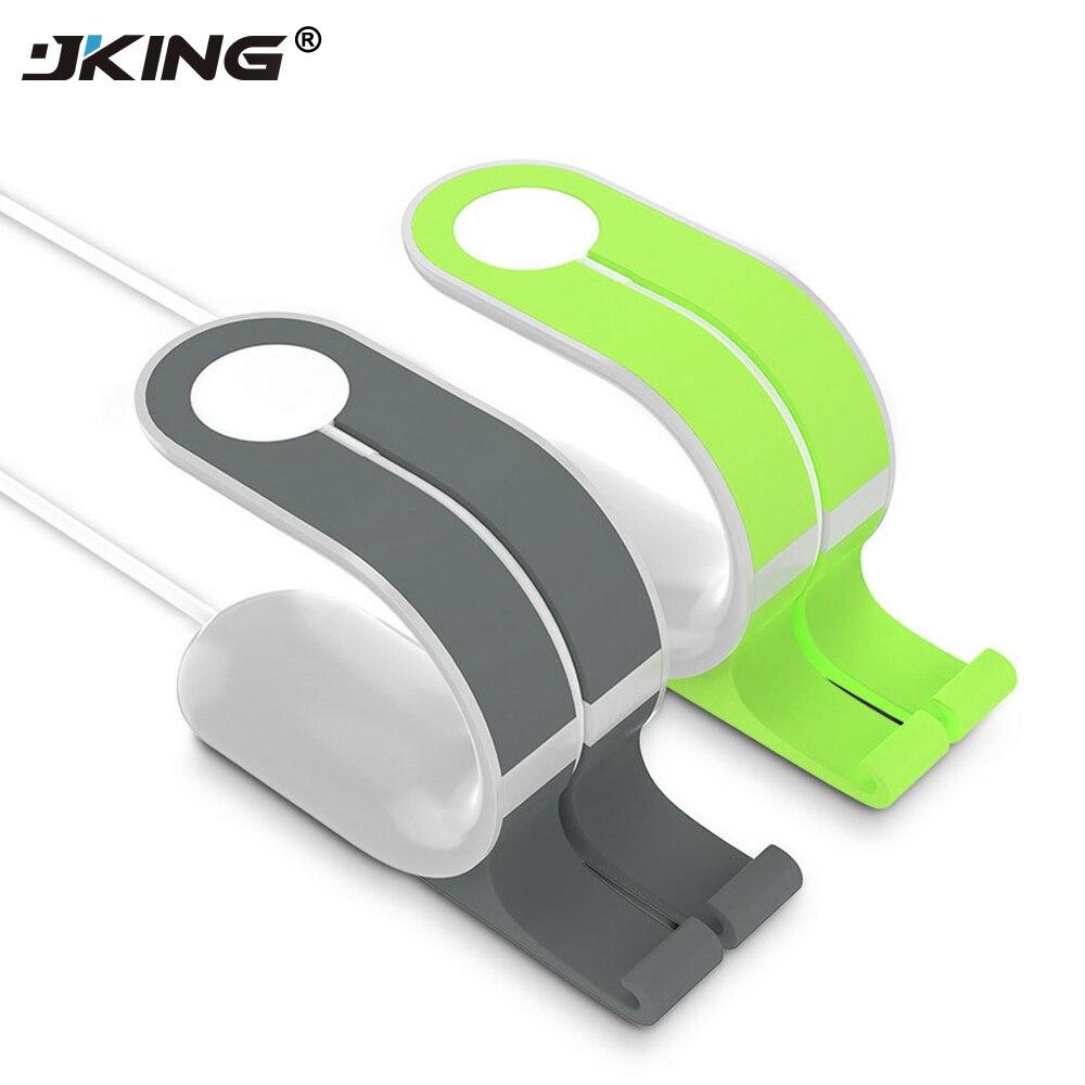 JKing 2 in1 для Apple Watch Подставка для зарядки крепление Charge Dock for iPhone 6S пл ...