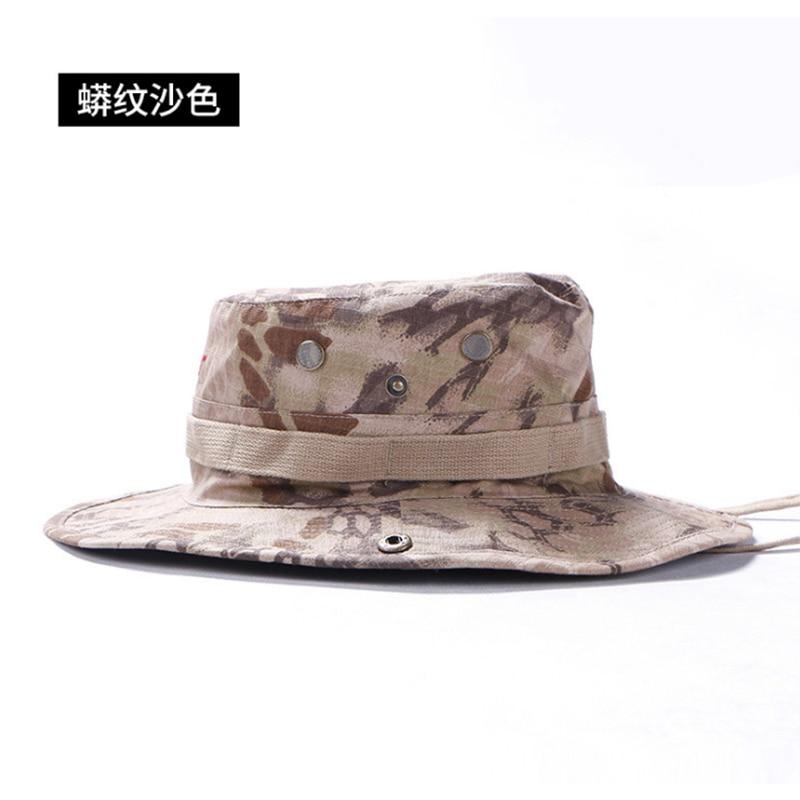 Exército Combate Militar Tático Caminhadas Ajustável Chapéu