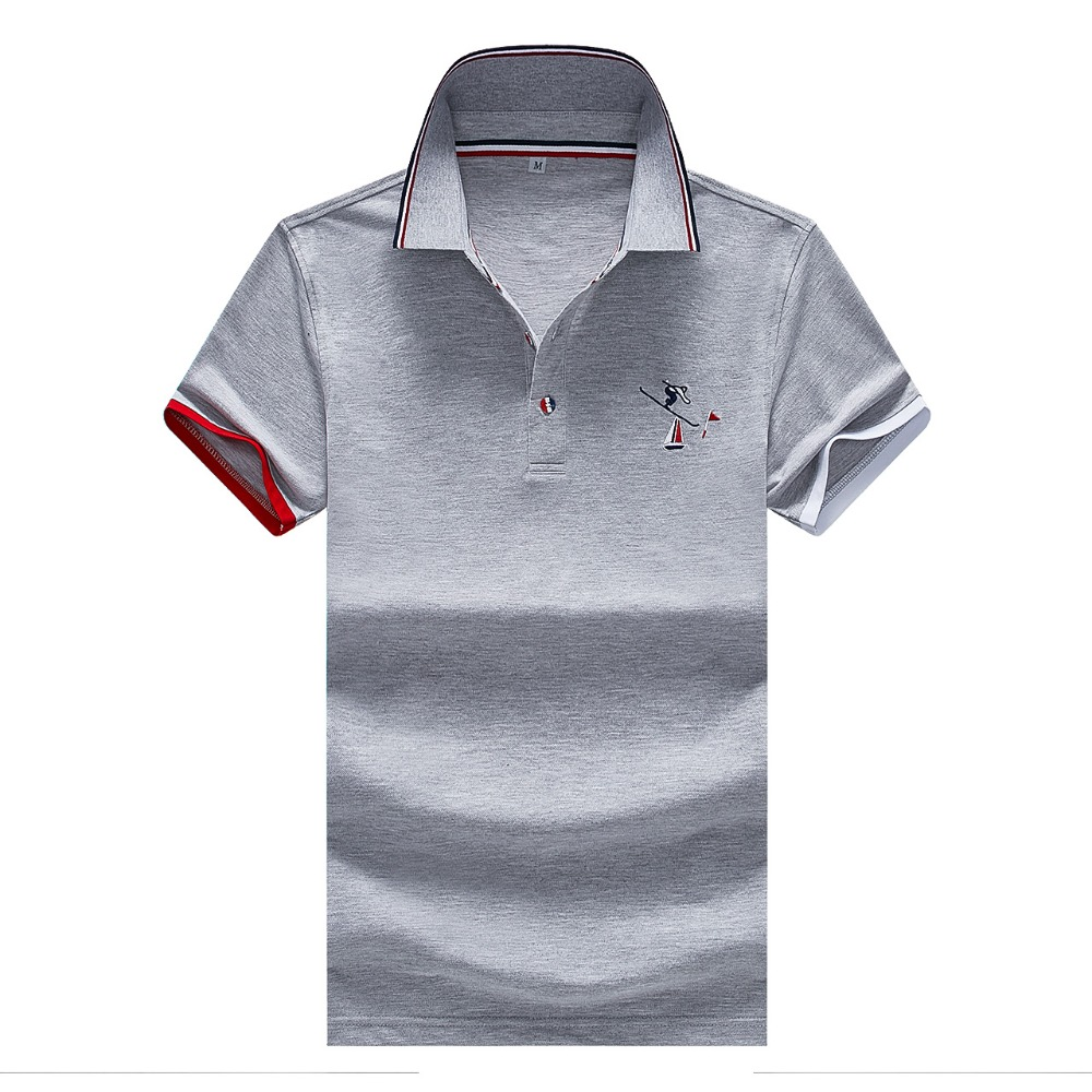 2019 New arrival summer short sleeve   polo   shirt men plus size XXXL cotton poloshirt homme camisa   polo   business casual clothing