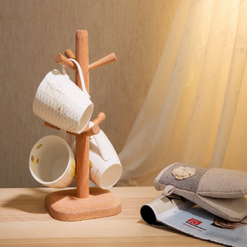 vertical wood  plastic cup tumbler holder bathroom toothbrush glass free shipping