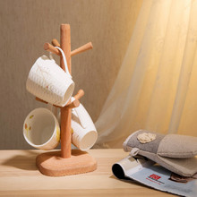 купить vertical wood  plastic cup tumbler holder bathroom cup holder toothbrush glass tumbler holder free shipping дешево