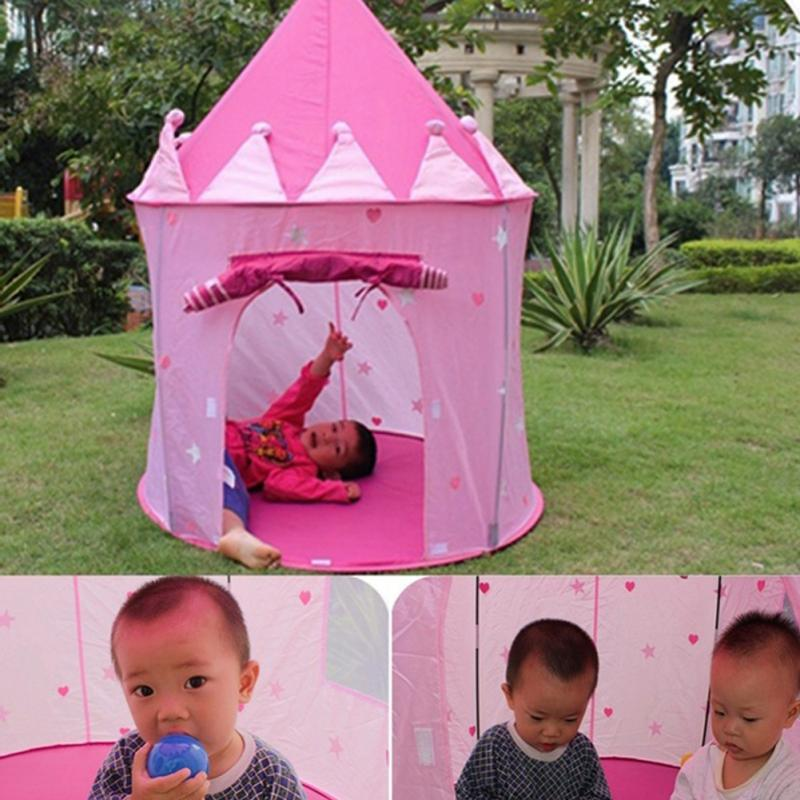 Outdoor Children Playing Tent Portable Baby Folding Play Tents Playhouse Garden Castle Toys Tent House-in Tents from Sports u0026 Entertainment on ...  sc 1 st  AliExpress.com & Outdoor Children Playing Tent Portable Baby Folding Play Tents ...