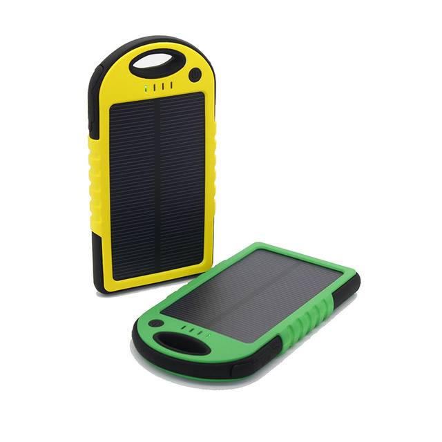 The Amazing Solar Power Bank 5000mah
