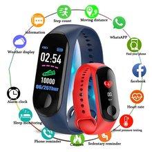 Смарт-часы M3, трекер здоровья, Смарт-часы, браслет, браслет, фитнес-трекер, монитор, браслет для Android, для iPhone