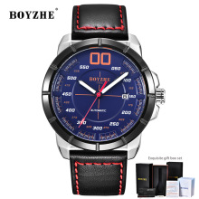Mechanical Watch Men Automatic Tourbillon Reloj Hombre Luxury Brand Watches Mens Sports Leather Montre Homme Dropshipping